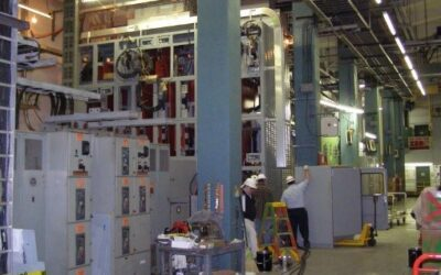 Hydroelectric Station Upgrades High-Current Switchgear