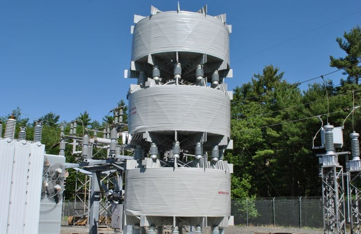 3 Phase Air Core Reactor Stacked